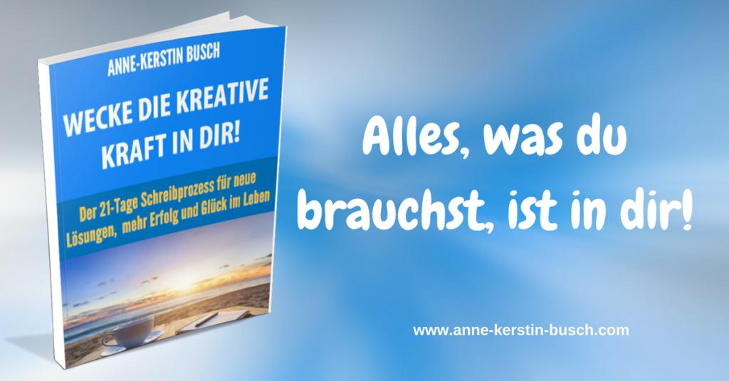 Bild: E-Book-Kurs - Wecke die kreative Kraft in dir!